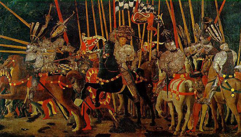 uccello battle of san romano. Uccello#39;s Battle of San