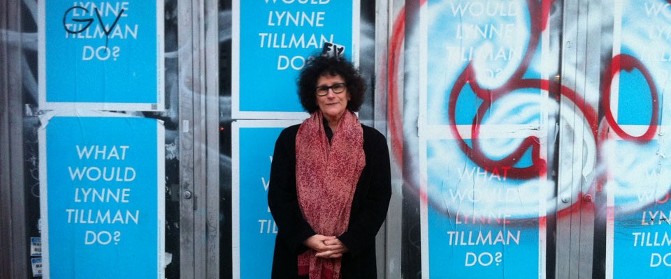 Lynne Tillman on Second Avenue, April 2013